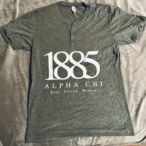 AXO 1885 quarter button T shirt